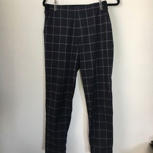 Uniqlo check trousers